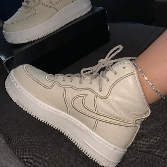 Nike Shoes   Platform Airforce High Top